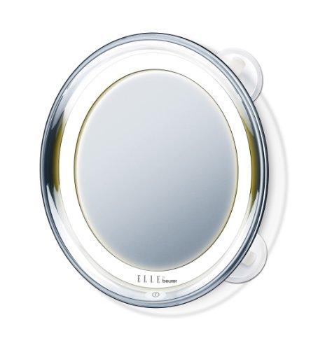 Elle by Beurer Beleuchteter Kosmetikspiegel FCE 79, Weiß-Silber