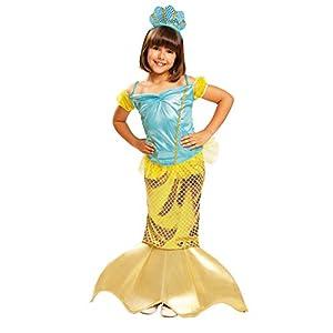 My Other Me Me-202608 Disfraz de Sirenita para niña, 3-4 años (Viving Costumes 202608
