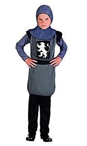 Boland Caballero medieval Niños del vestido de lujo del renacimiento del cuento Niños de disfraces para niños (4-6 años)