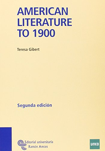 Américan Literature To 1900 (Manuales)