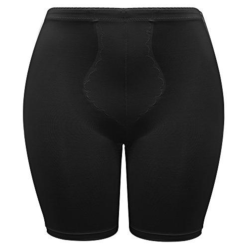 Trend4You Shapewear Damen Miederpants mit Bauch weg Effekt Formt sofort Schwarz