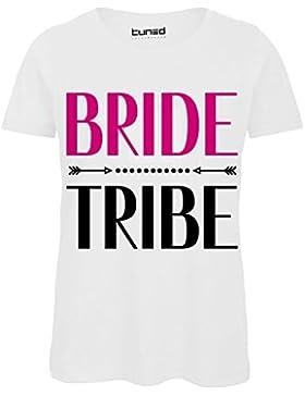0a6b457220ceca T-Shirt Divertente Donna Maglietta con Stampa Addio al Nubilato Bride  TribeTuned