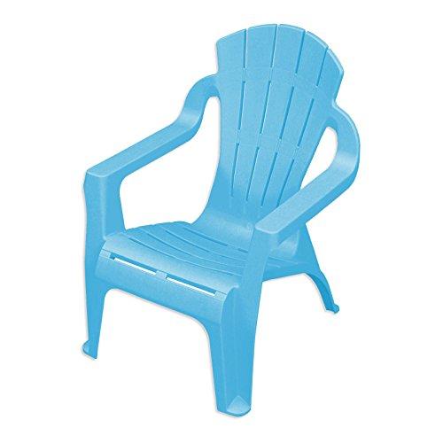 Kinder-Deckchair hellblau Mini-Selva