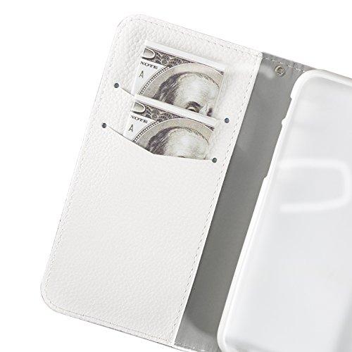 Für iPhone 8 Plus Folio Wallet Case,Vandot Glitzer Schale Tasche Magnetisch Brieftasche 3D Bling Kristall Diamant PU Leder Flip Case Handgefertigt Crystal Cover Stoßdämpfend Drop Protection Ganzkörper Diamant 11