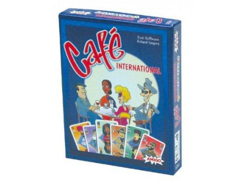 Gigamic am1921-Kartenspiel Der Reflexion-Kaffee International Internationale Kaffee