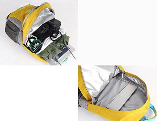 HWLXBB Outdoor Bergsteigen Tasche Männer und Frauen 25L Wasserdichte Mehrzweck-Bergsteigen Tasche Wandern Camping Bergsteigen Freizeit Rucksack Rucksack 3*