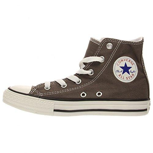Converse Chuck Taylor All Star Season Hi - Scarpe da ginnastica, alla moda, da ragazza Charcoal