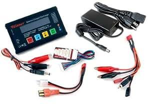 Racing Redcat Chargeur de batterie LIPO Tenergy-90252 et adaptateur