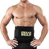 Bluee Sweat Waist Fat Burner Body Slimming Belt