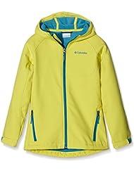 Columbia Boy 's Cascade Ridge Soft Shell Top), Niños, color Mineral Yellow, tamaño L