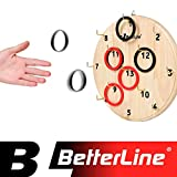 Best Board Games For Teens - BETTERLINE Hook Ring Toss Number Board Game Set Review