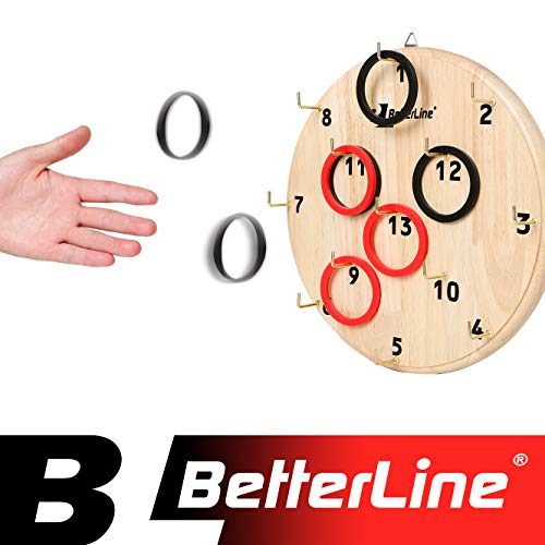 1e65d83277789 Hookey Ring Toss Number Game - Fun and Challenging Tossing Game for Adults  and Kids.