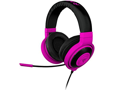 Razer Kraken PRO Over Ear PC and Music Headset - Neon Purple  available at amazon for Rs.8422