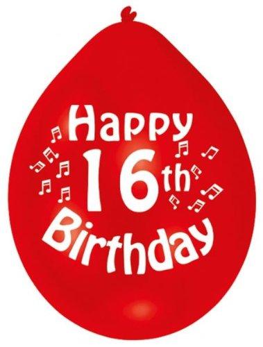 Geburtstag 10 Luftballons ()