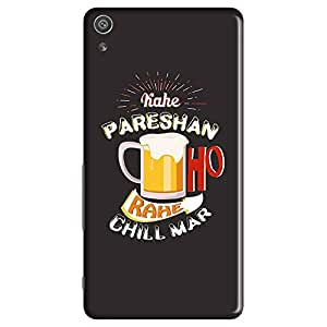 Mobo Monkey Designer Printed Back Case Cover for Sony Xperia XP (Humor :: Beer Mug :: Quirky :: Desi :: Typography)