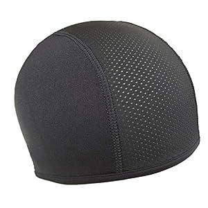 TIREOW Elastisch Feuchtigkeit Wicking Kühlung Skihelm Schädelkappe InnenLiner Helm Mütze Kuppel Kappe Schweißband Innenhelm Kühldeckel Hut Für Männer Frauen