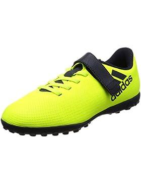 adidas X 17.4 TF J H&l, Zapatillas de Fútbol para Niños