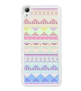 ifasho Designer Phone Back Case Cover HTC Desire 826 :: HTC Desire 826 Dual Sim ( Grey Pattern )