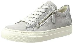 Paul Green Damen 4512021_37.5 Sneaker, Grau (Cloud Silver), EU