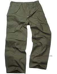 Unknown - Pantalon -  - Uni Homme Vert Vert olive
