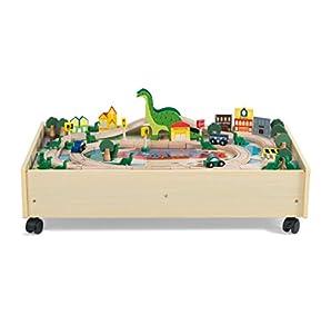 Plum- Mesa de Actividades Dinosaurios, Color Natural (41087)