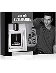 Bustamante Eau de cologne bustamante Muy mio avec vaporisateur 100ml et crème après rasage de 75ml