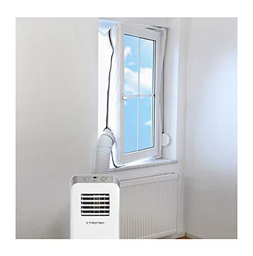 Rameng 400CM Tissu de Calfeutrage de Fenêtres Joint de Fenêtre pour Climatisation Mobiles et Déshumidificateurs Sèche-Linge