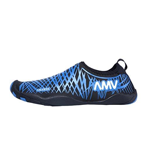 De Sapatos Crianças Azul Sapatos Flutuantes De Sapatos Para Senhoras Banho Água Surf Homens Sapatos De Praia w0X6n8Z
