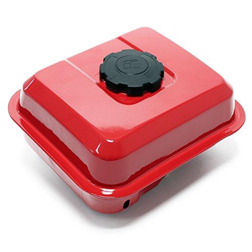 Ersatzteil für Benzinmotor 6,5 PS Benzintank rot