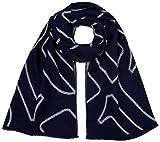 G-STAR RAW Damen Schal Dorala Scarf Wmn Ao, Mehrfarbig (Imperial Blue/Milk 6105), One Size