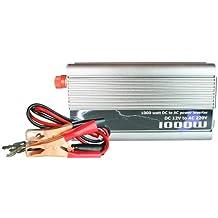 Transformador Corriente Coche Convertidor Inversor 1000W 12V a 220V Batería USB