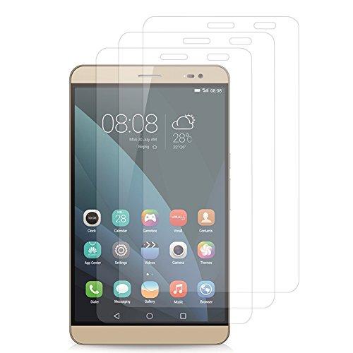 VComp-Shop® 3x Transparente Bildschirmschutzfolie für Huawei MediaPad X2 7.0