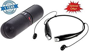 HBS-730 Bluetooth Stereo Headset Wireless And bluetooth pill speaker