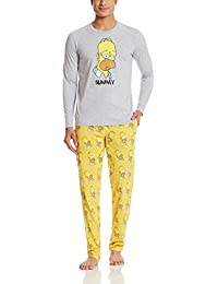 The Simpsons Men's Cotton Pyjama Set