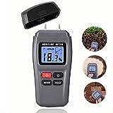 JVSISM rilevatore del tester di umidita' di legno DiKaou con display LCD digitale, misuratore di umidita' per legna da ardere, igrometro del legname di alta precisione di misurazione
