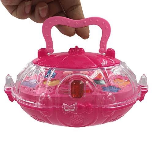 Mitlfuny Auto-Modell Plüsch Bildung Squishy Spielzeug aufblasbares Spielzeug im Freien Spielzeug,Princess Girl's Pretend Play Spielzeug Deluxe Makeup Palette Set Non Toxic für Kinder (Schaf Kostüm Make Up)