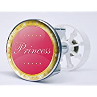 Waschbeckenst/öpsel Sticker Deside Waschbeckenst/öpsel Princess Aufkleber f