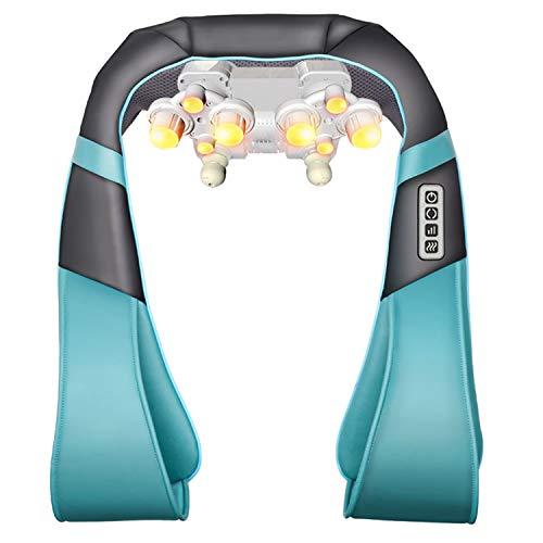 MAOMEI Knetender Halswirbel-Massagegerät, Multifunktionsmassage-Schal, Schulter-Taillen-Massagegerät, Schlagen