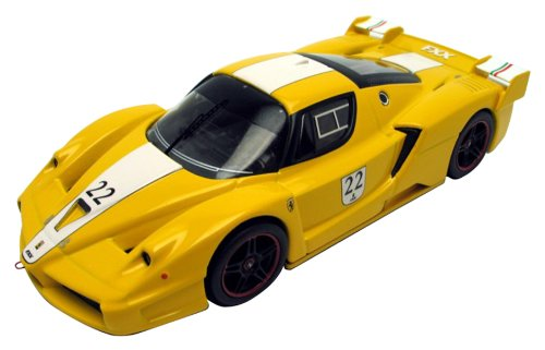 Hot-Wheels-143-Elite-Ferrari-FXX-22-gelb