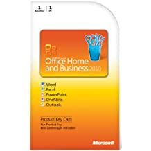 Microsoft Office Home & Business 2010 DE - Suites de programas (1 usuario(s), DEU, 3000 MB, 256 MB, 500 MHz)