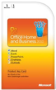 Microsoft Office Home & Business 2010 DE