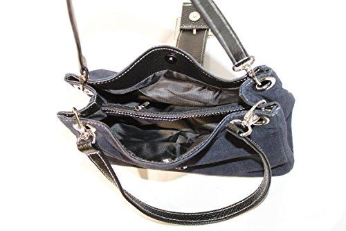 Kleine Handtasche im süßen Design mit auffälliger Schnalle im Black,Blue,Brown,D.Brown,Grey,Red,Oliv,Taupe D.Brown