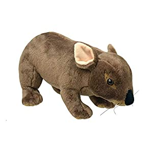 Wild Planet All About Nature-26cm Wombat-Hecho a Mano, Peluche Realistico, K8196