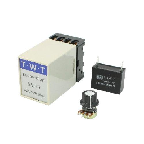 Aexit 20 K Ohm Potentiometer, 220 V - 240 V, elektrisch, AC Motor Speed Controller (Controller Motor Speed Ac)