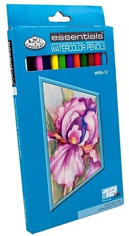 Royal & Langnickel Water Colour Pencils (12 Piece)