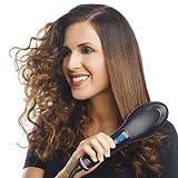 TOUFAGE Haarglätter Elektrische Haarbürste 100-240 V Schnelle Schere Haarglätter Kamm Brosse Coater