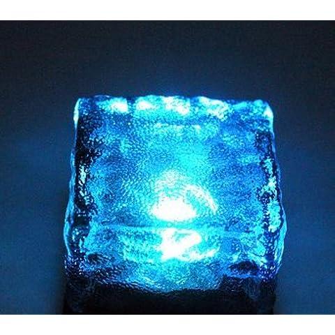 desy luci da giardino, solare Ice Piastrelle Underground lampada prato
