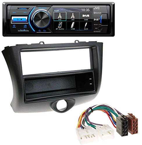 caraudio24 JVC KD-X561DBT Bluetooth MP3 USB DAB Autoradio für Toyota Yaris (2003-2006)