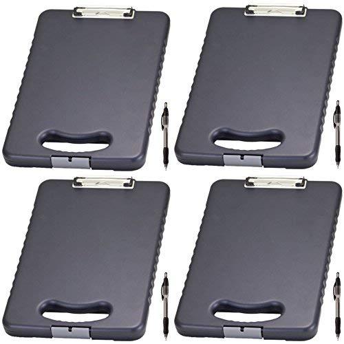 Officemate OIC Buchstabe/A4Größe Tablet Klemmbrett Fall, anthrazit (83314) 83314 4 Pack/Bundle 4 Bundle-fall