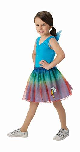 Rubie's My Little Pony Kinder Kostüm Rainbow Dash Karneval 5 bis 6 - Rainbow Dash Kostüm Kind